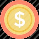 financial, dollar currency, dollar sign, dollar, money icon