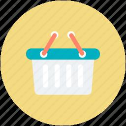 basket, e commerce, online store, purchase, shopping, shopping basket icon