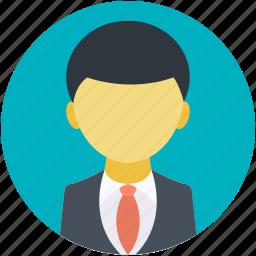 avatar, businessman, cartoon man, faceless person, male icon