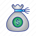 bussines, finance, money, savings icon