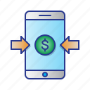 bussines, finance, online payment, payment icon