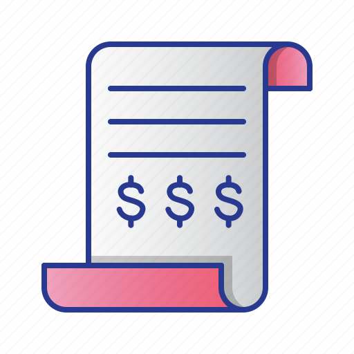 bussines, document, finance, memo, report, tax icon