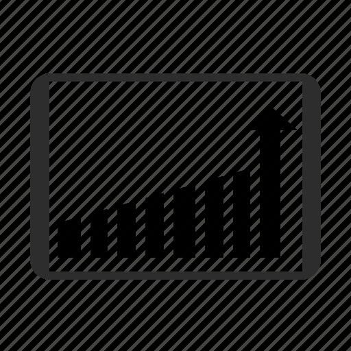 analytics, chart, diagram, graph, statistics, tab icon