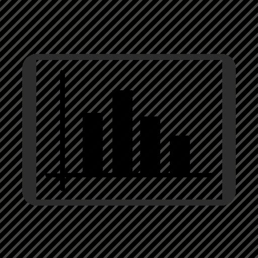 analytics, chart, finance, growth, sales, statistics, stock icon icon