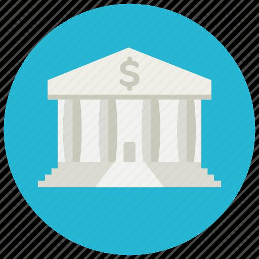bank, finance, money, savings icon