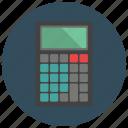 calculate, calculator, finance, office