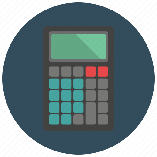 calculate, calculator, finance, office icon