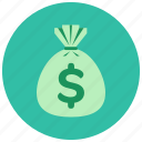 bag, cash, finance, money, payment icon