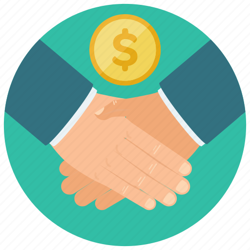 agreement, deal, finance, money, payment icon