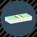 dollar, finance, money, stack