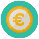 coin, currency, euro, finance