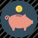 finance, money, piggybank, saving
