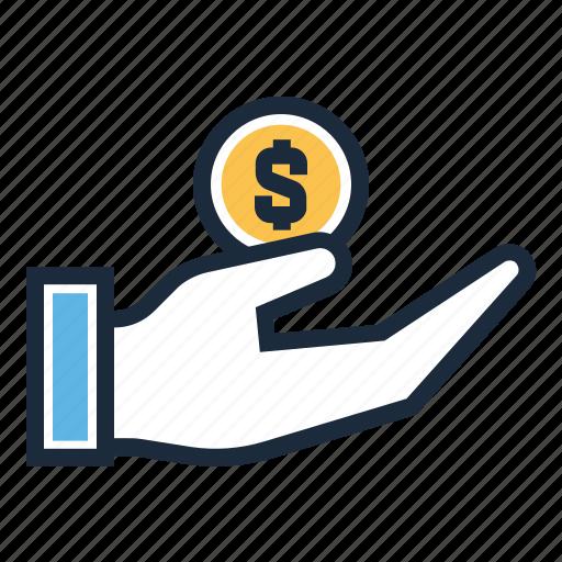 finance, funding, money, profit icon