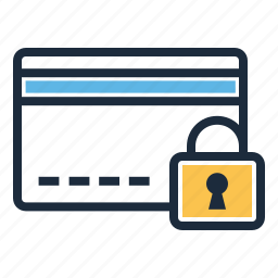 card, credit, security icon