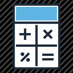 budget, calculator, finance icon