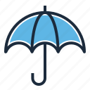 finance, insurance, umbrella icon