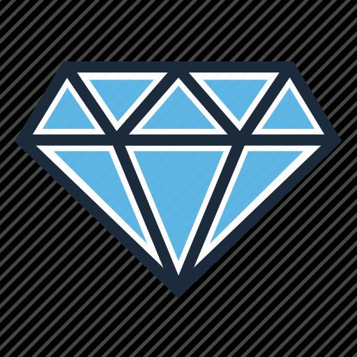 diamond, value, vip icon