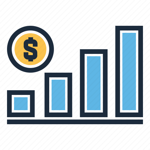 analytics, finance, graph, growth, statistic, up icon