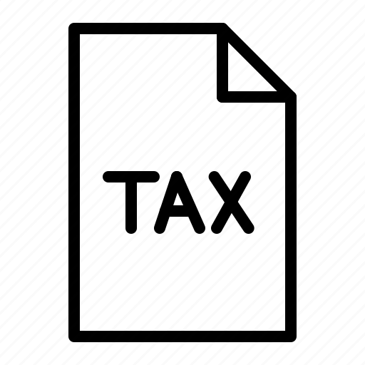 document, file, finance, tax icon