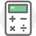calculator, countting, finance, financial icon