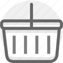 basket, buy, cart, ecommerce, finance, marketing, shopping icon