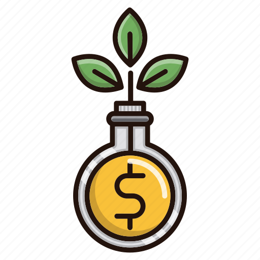 business, finance, funds, growth, investments icon