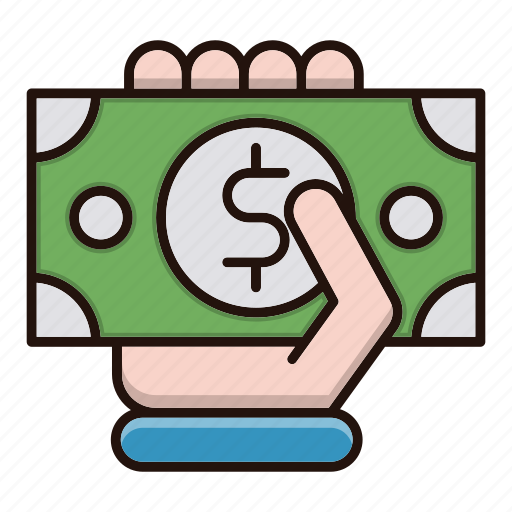 business, cash, currency, finance, payment icon