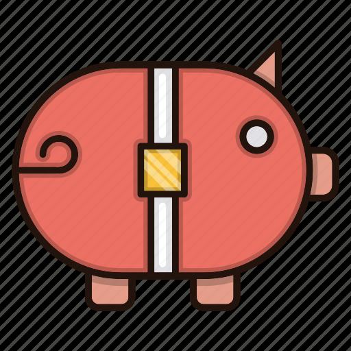bank, business, finance, piggy, savings icon