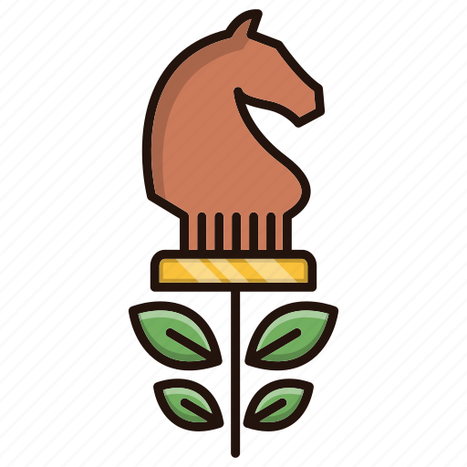 business, finance, investment, plan, plant, strategy icon