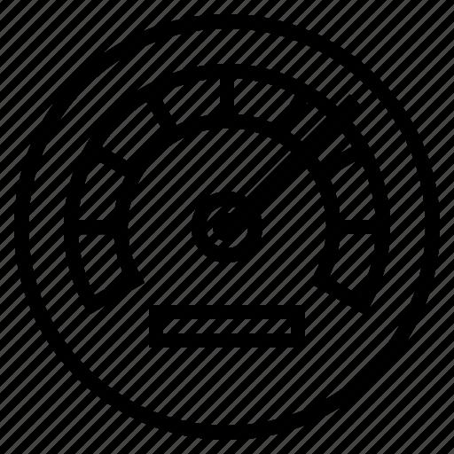 business, finance, marketing, meter, performance, speed icon