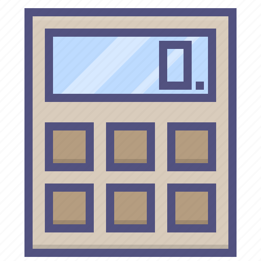 business, calculator, finance, financial, marketing, payment icon