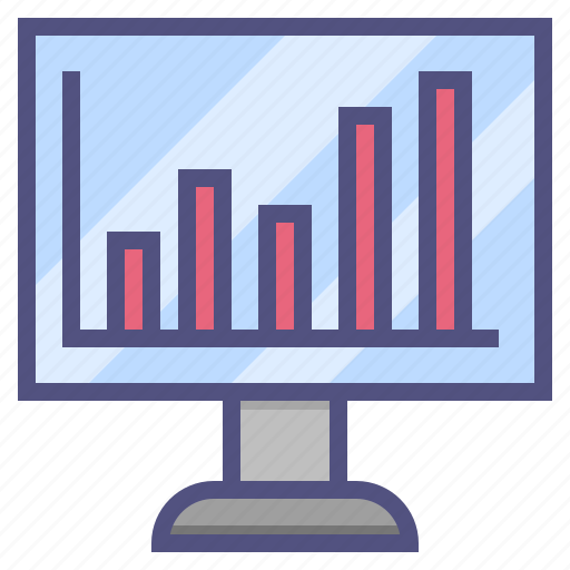 analytics, business, chart, finance, financial, marketing icon