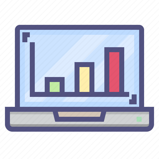 analytics, business, chart, finance, financial, report icon