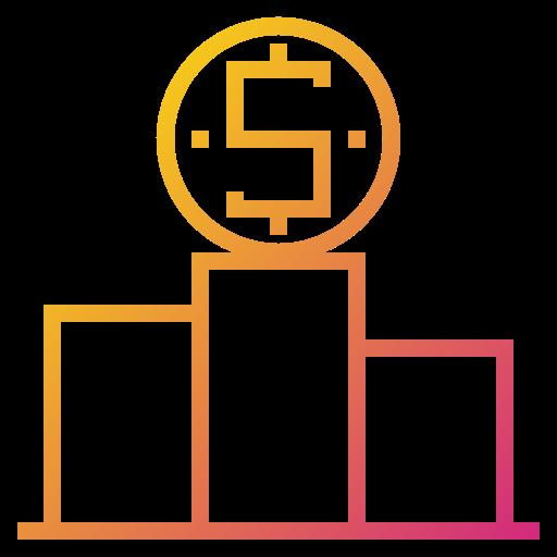 business, finance, performance, reward icon
