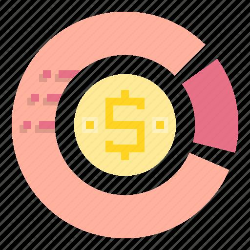 business, chart, finance, financial, marketing, money icon