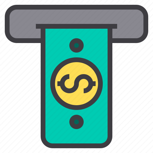 business, cash, financial, money, wallet icon