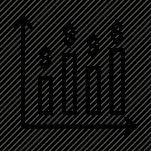 Chart, dollar, finance, graph, statistics icon - Download on Iconfinder
