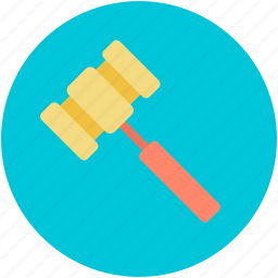 auction, auction hammer, gavel, hammer, mallet icon