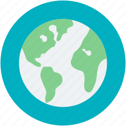earth globe, earth planet, planet, space, topography icon