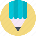 color pencil, crayon, pencil, write, writing icon