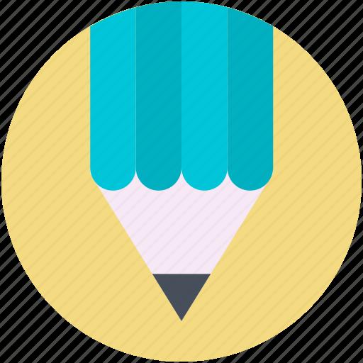 color pencil, crayon, pencil, write, writing icon