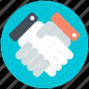 business partner, relationships, businessmen, deal, shake hand
