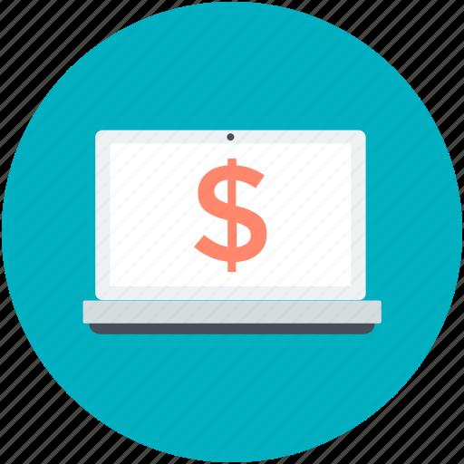 commerce, e-commerce, online business, online earning, online work icon