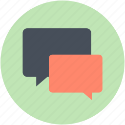 chat, chatting, chit chat, conversation, talk icon