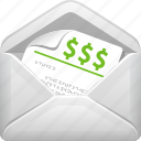 contract, envelope, finance, letter, mail, tax, tax form icon