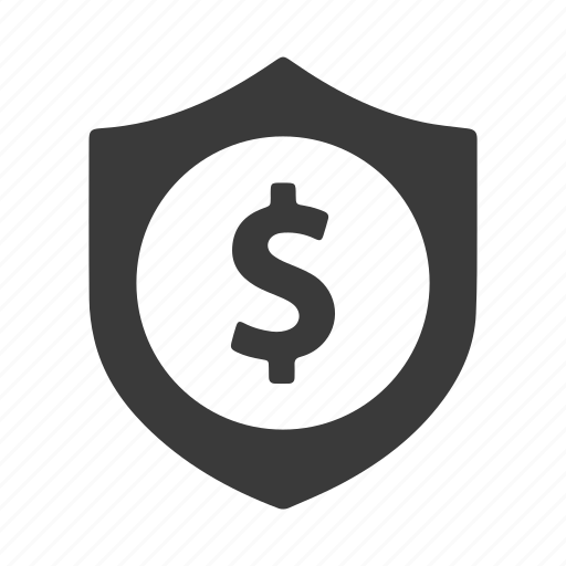 finance, lock, money, protect, safe, secure, shield icon