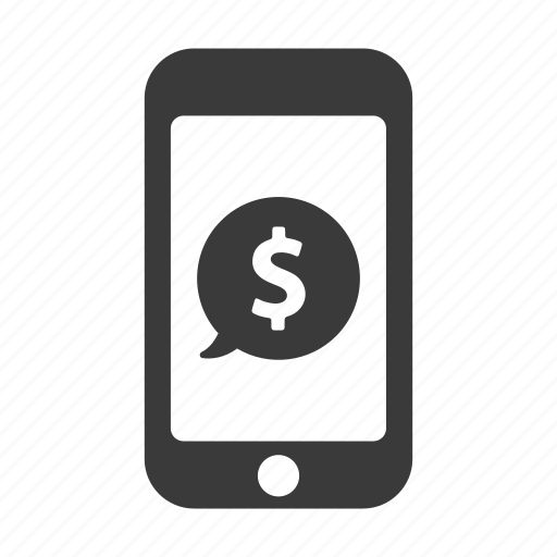 dollar, finance, mobile, money, pay, payment, phone icon