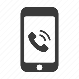 call, communication, dial, mobile, phone, ring, smartphone icon