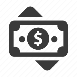 bill, dollar, finance, money, pay, payment icon