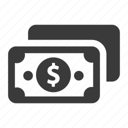 bill, cash, dollar, finance, money, pay, payment icon